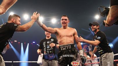 Австралийский боксёр Тим Цзю