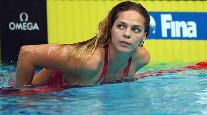 Пловчиха Ефимова отобралась на четвёртые Олимпийские игры в карьере