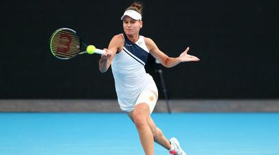 Кудерметова вышла во второй круг турнира WTA в Чарльстоне