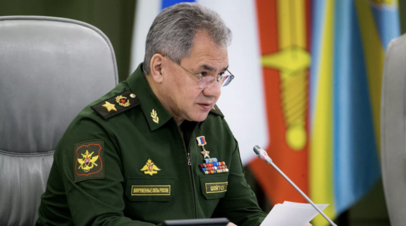 Шойгу рассказал о ходе вакцинации военнослужащих от коронавируса