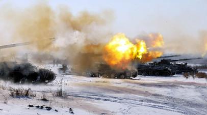 Учения ВС РФ по ликвидации группировки противника