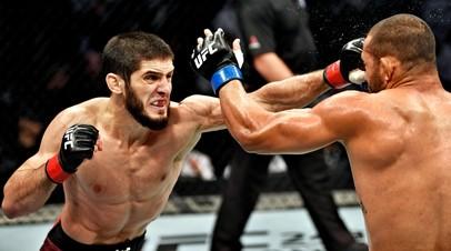 Бойцы UFC Ислам Махачев и Дави Рамос