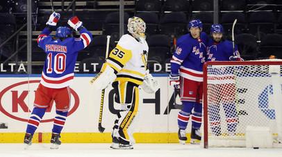Панарин в матче с Питтсбургом забросил свою 160-ю шайбу в НХЛ