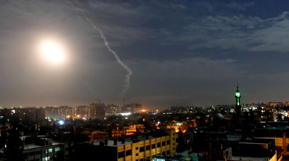 SANA: средства ПВО отражают израильскую атаку на юге Сирии