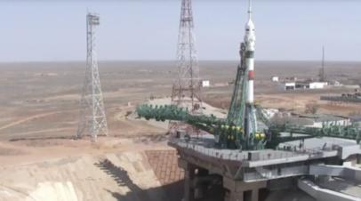 Запуск корабля Ю.А. Гагарин к МКС