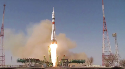 Ракета с кораблём Ю.А. Гагарин стартовала с Байконура