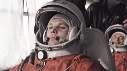 RT отреставрировал поздравление Гагарина с Днём космонавтики от 1962 года