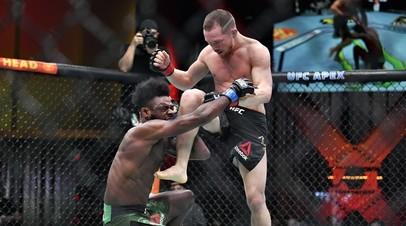 Бойцы UFC Алджэмейн Стерлинг и Пётр Ян