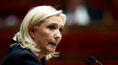Ле Пен подтвердила планы баллотироваться в президенты Франции
