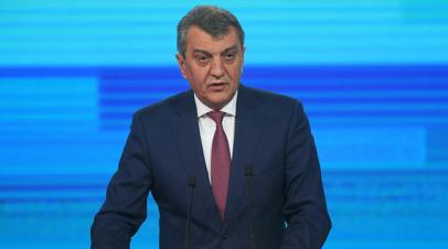 Меняйло прокомментировал своё назначение на пост врио главы Северной Осетии