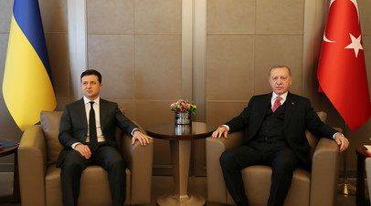 Зеленский и Эрдоган договорились усилить сотрудничество в борьбе с терроризмом