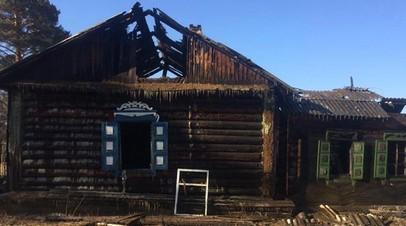 Три человека погибли при пожаре в Забайкальском крае