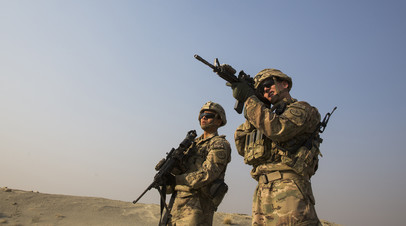 Военнослужащие ВС США в Афганистане
