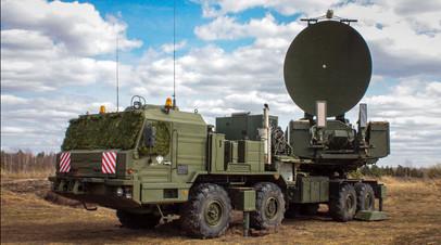 Мобильная станция радиоэлектронной борьбы ВС РФ
