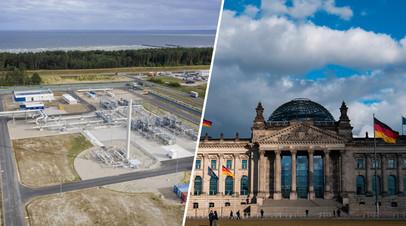 Строительство «Северного потока — 2» / Бундестаг