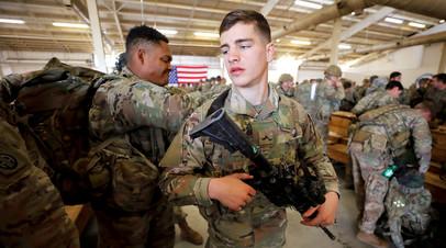 Группа американских военных