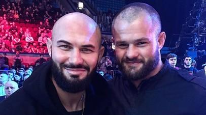 Джиган и Дмитрий Бикрёв