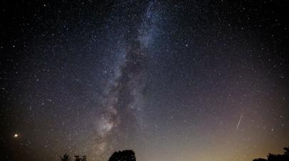 Астроном рассказал, как наблюдать за звездопадом Лириды
