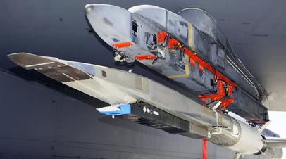 Испытательный образец американского гиперзвукового блока Hypersonic Test Vehicle
