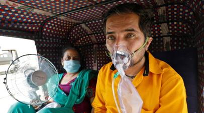 В Индии за сутки выявили более 350 тысяч случаев коронавируса