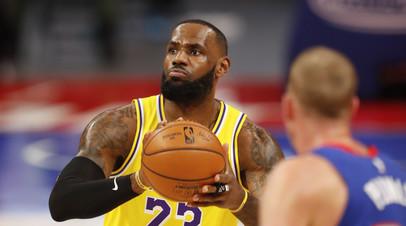 Полицейский предложил звезде НБА Джеймсу встретиться один на один