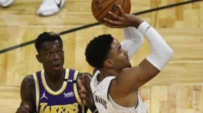Лейкерс победил Орландо в матче НБА