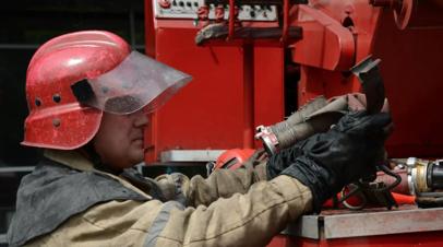 В МЧС назвали причину пожара на площади 15 га в Биробиджане