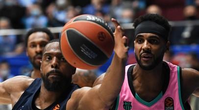 Зенит во второй раз проиграл Барселоне в 1/4 финала баскетбольной Евролиги