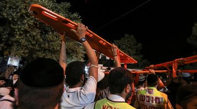 Число погибших на празднике в Израиле увеличилось до 44