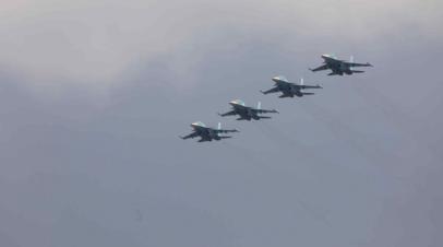 В Ростове-на-Дону прошла репетиция воздушного парада Победы