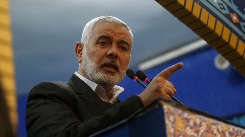 ХАМАС раскритиковал решение перенести выборы в Палестине