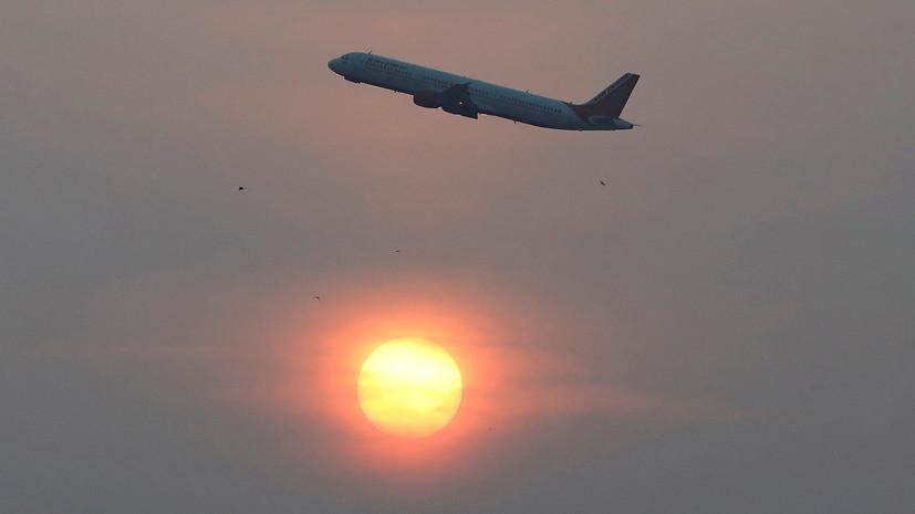 Индия продлевает запрет на международные пассажирские рейсы