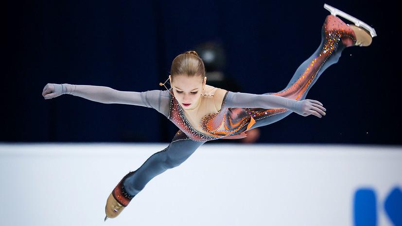 Матч ТВ: Трусова вернулась в Хрустальный и уже приняла участие в тренировке
