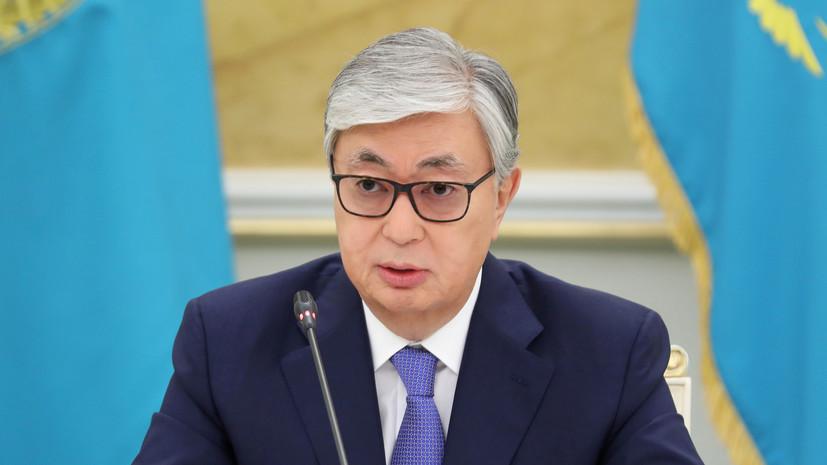 Токаев выразил обеспокоенность ситуацией на границе Киргизии и Таджикистана