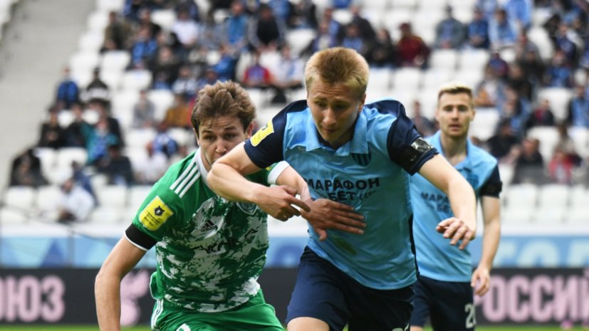 Гол Щёткина помог «Ротору» обыграть «Ахмат» в матче РПЛ