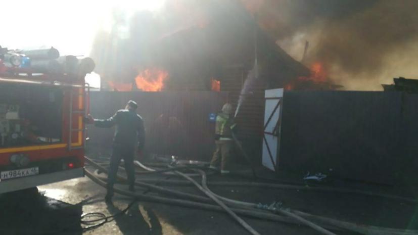 Пожар в Кургане локализован