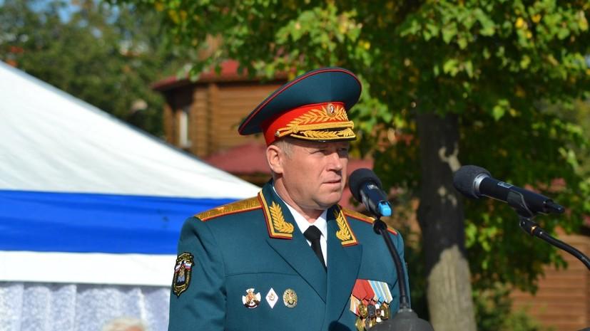 Путин освободил Барышева от должности замглавы МЧС России