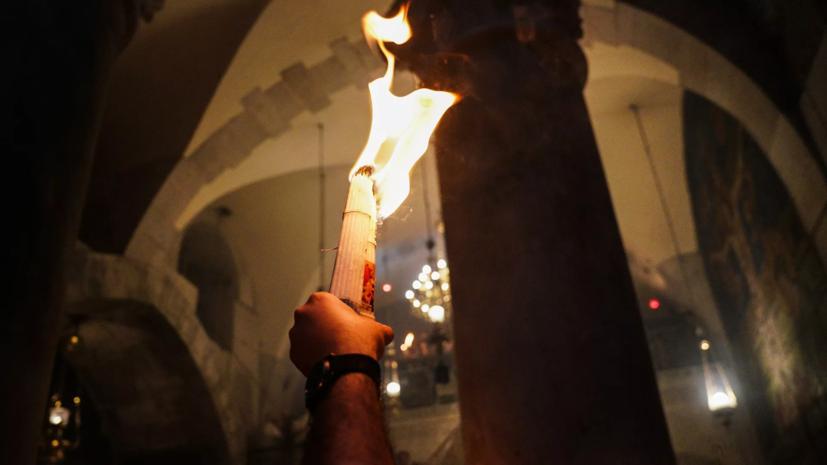 Благодатный огонь доставили на Ставрополье