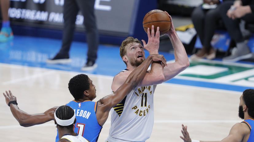 «Индиана» одержала самую крупную гостевую победу в истории НБА