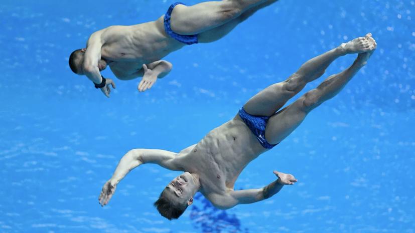 Кузнецов и Шлейхер завоевали олимпийскую квоту в прыжках в воду с трамплина