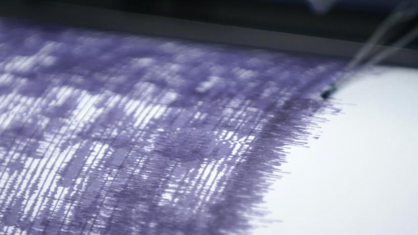 Землетрясение магнитудой 5,8 произошло в Японии