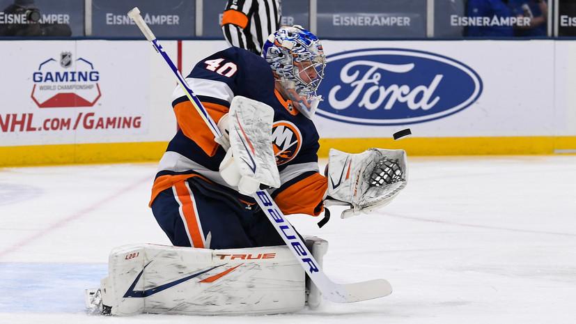Варламов назван третьей звездой недели в НХЛ