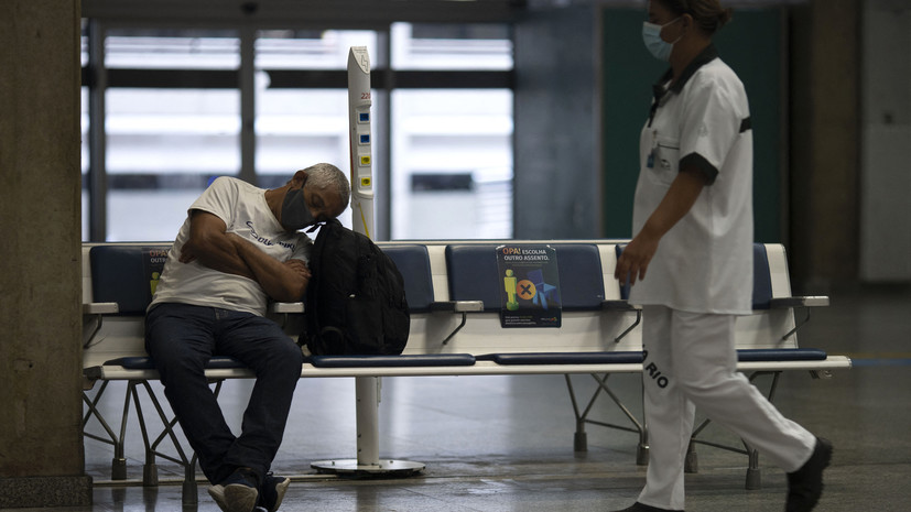 Эксперт назвал Бразилию «коронавирусной лабораторией»