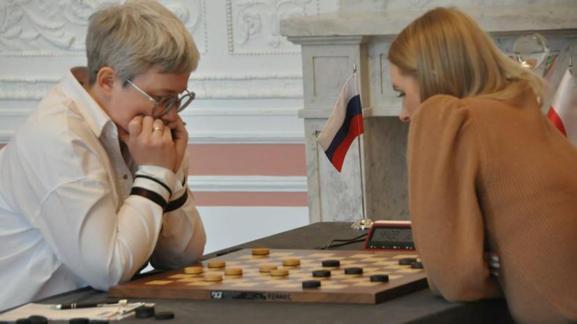 Тансыккужина прокомментировала свою победу в финале ЧМ по шашкам