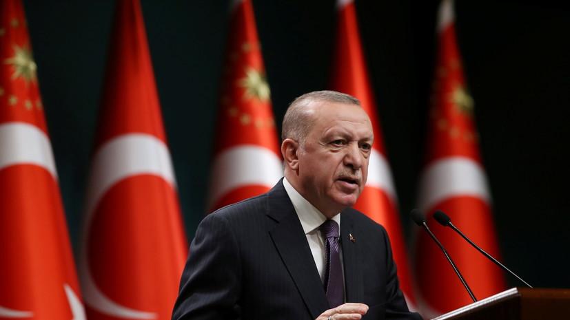 Путин провёл переговоры с Эрдоганом