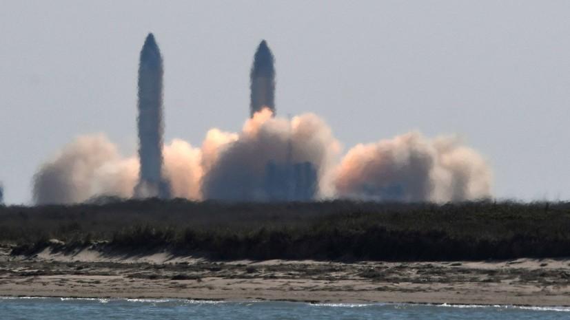 SpaceX провела успешные испытания прототипа корабля Starship