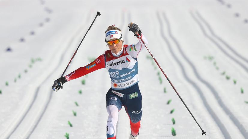 Лыжница Йохауг выступит в квалификации к летним ОИ в беге на 10 000 м