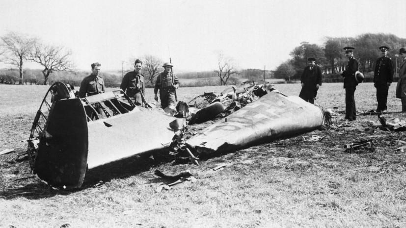 «Лондон до сих пор не раскрыл всех материалов»: как Рудольф Гесс улетел в Британию из Третьего рейха в 1941 году0