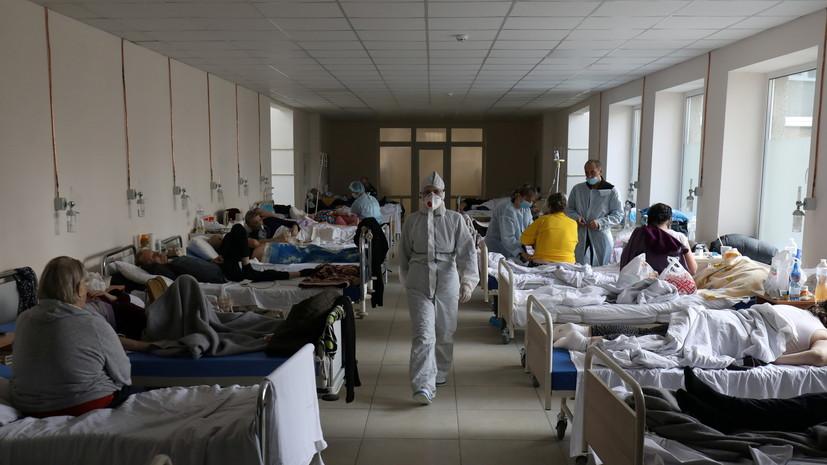 На Украине выявили более 8 тысяч случаев коронавируса за сутки