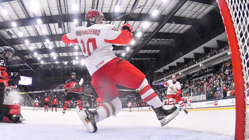 Лещёв заявил, что ему не стыдно за хоккеистов сборной России после поражения в финале ЮЧМ